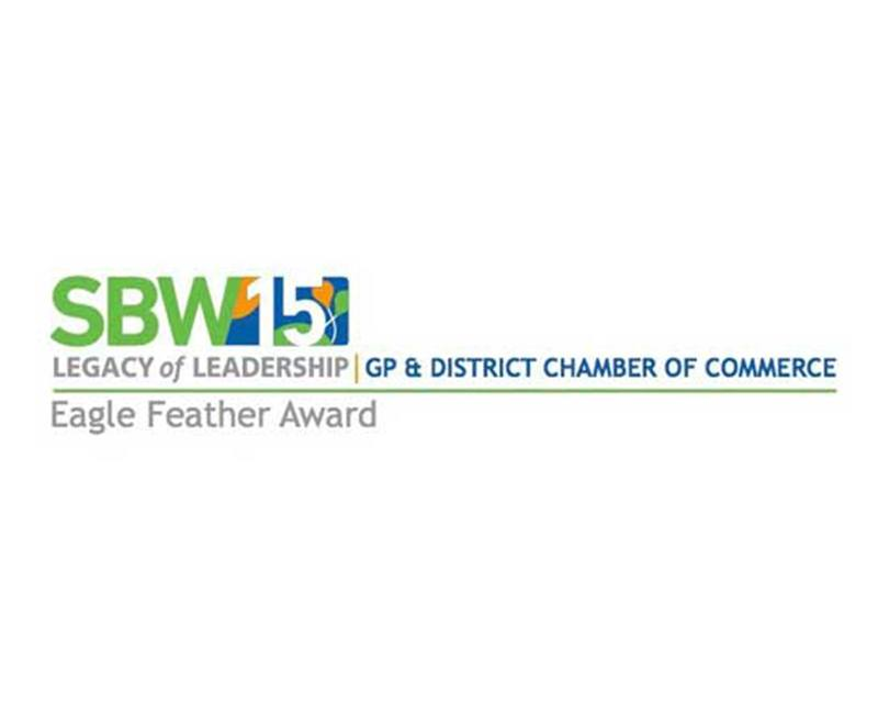 2016 Grande Prairie Chamber of Commerce Eagle Feather Award