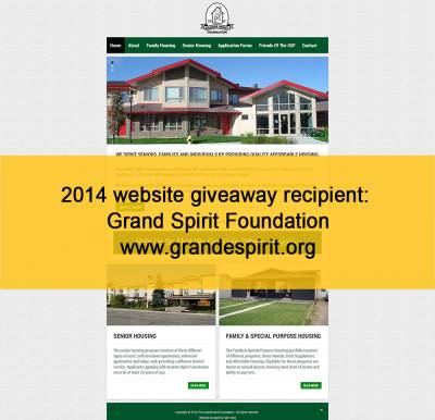 2015 Peace Country Website Giveaway Winner to be Announced July 1st!